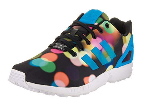 Adidas Black Turnschuhe Flux Zx bright white Blue Synthetik SwzqRxS