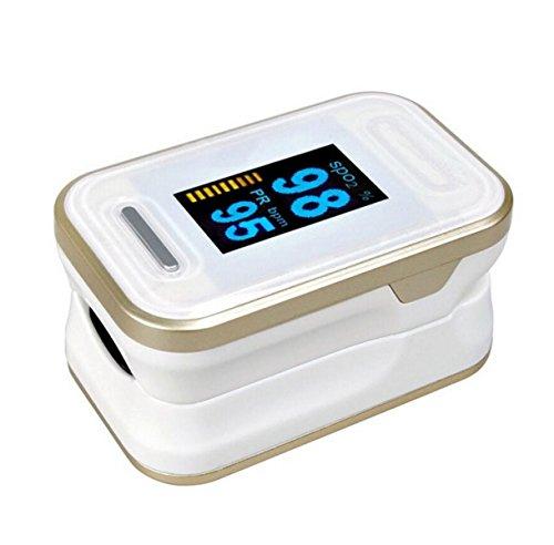 TAO Pulsoximeter-Finger-Klemm-Impuls Warme Herzfrequenz-Überwachung Häusliche Pflege Healthcare Medizinische Ergonomie Design Dry Battery