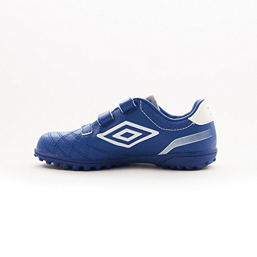 Umbro Umbro Classico 4Velcro TF Jnr Chaussures pour enfants Tw Royal / Blanco