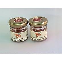 KIT 2 (DUE) VASETTI POLVERE DI CAROLINA REAPER - Polvere del peperoncino più piccante al mondo- Società Agricola Alba - due vasetti da gr.10 cad.
