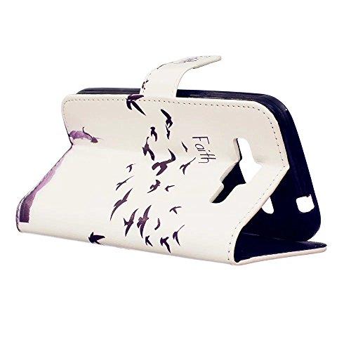 TKSHOP Zubehörteil Case Cover für iphone 5 c Hülle Luxus PU Leder Bookstyle Handyhülle Taschen SchaleUltra Slim Smart Ledertasche Flip Etui mit Standfunktion Schale Anti-Schock Schutzhülle Magnetversc Ms9