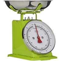 Premier Housewares Bilancia da Cucina, 5 kg, Verde e Acciaio