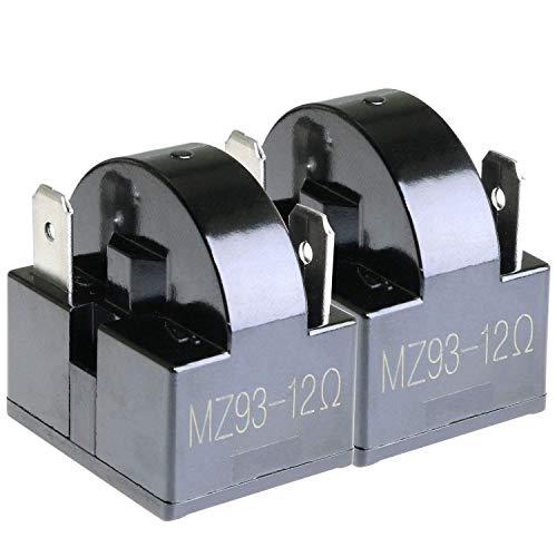DealMux ToToT 2pcs PTC Kühlschrank Startrelais 3