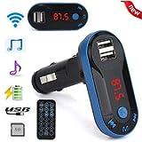 SLB Works Bluetooth Wireless FM Transmitter MP3 Player Handsfree Cars Kit USB TF SD Remote