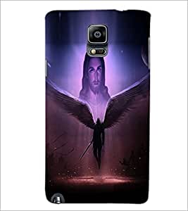 PrintDhaba Lord Jesus D-3754 Back Case Cover for SAMSUNG GALAXY NOTE 3 (Multi-Coloured)