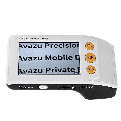 Preisvergleich Produktbild Eyoyo 3, 5 Zoll Tragbare Video Digital Lupe Elektronische Vergrößerung Lesehilfe Leselupe mit mehreren Farbmodi Für Low Vision (Vergrößerung 2-25X)