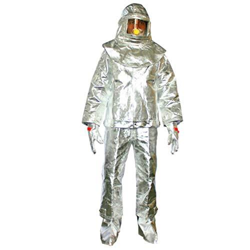 MOPP Indumenti di Isolamento Termico ad Alta Temperatura di Lavoro di Protezione Generale Abbigliamento Anti-scottatura Anti-Radiazioni 800/1000 Gradi (Size : 1000)