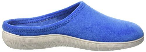In Blu Inblu Blupuff Spugna, Chaussons Pour Femme - Multicolore Turchese (Jeans)