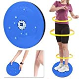 #2: KRITAM FOOT ACCUPRESSURE TWISTER STEPPER RED FOR FITNESS 5 IN 1 Magnetic Disk Hot Sweating Body Shapers Slimming Tummy Twister Rotating Machine (FOOT MASSAGERS) Weight Loss Women & Men