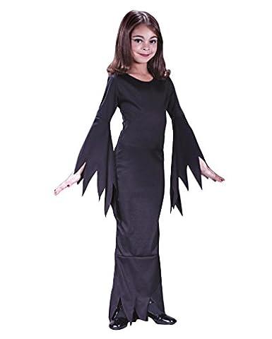 Madame Morticia Kinderkostüm M (Morticia Kostüm Zubehör)