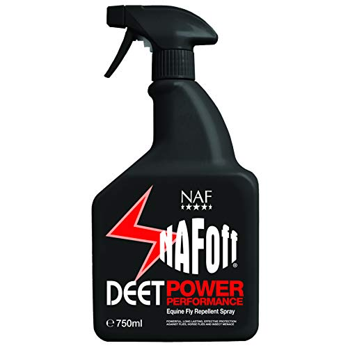 NAF Off Unisex Deet Power Fliegenbekämpfungsmittel-Spray, weiß, 750ml
