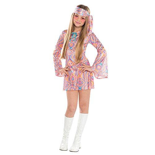 M Kostüm Teen Disco Diva, 70er Jahre Kostüm ()