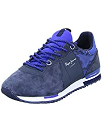 Pepe Jeans London Tinker Racer Mix, Zapatillas para Hombre