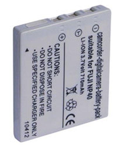 Preisvergleich Produktbild LI-ION AKKU für Fuji NP 40, 3,7V, 700mAh