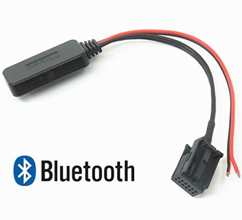 Bluetooth Adapter, Auto Wireless CD Stereo AUX Musik Interface kompatibel für Mini Cooper BMW X5 X3 Z4 E83 E85 E86 E39 R53 R50
