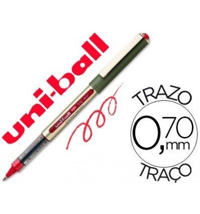 Uni 135471 penna ball eye, rosso