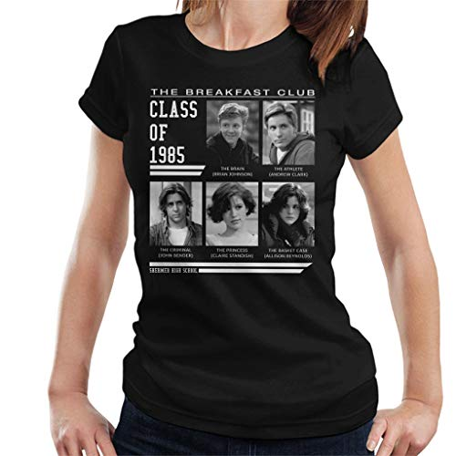 Breakfast Club Class of 85 Women's T-Shirt Black