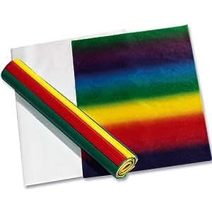 91225 Blumenseide folia-papier de soie - 50 x 70 cm 130 g/m² - 20 feuilles 5 couleurs