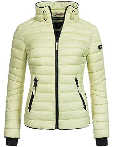 Marikoo Lola, veste matelassée pour dame mi-saison Vert XL