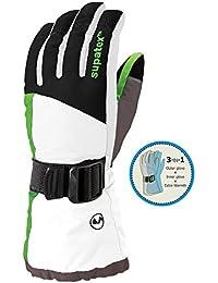 Manbi Scope 3-in-1 Mens Ski Glove