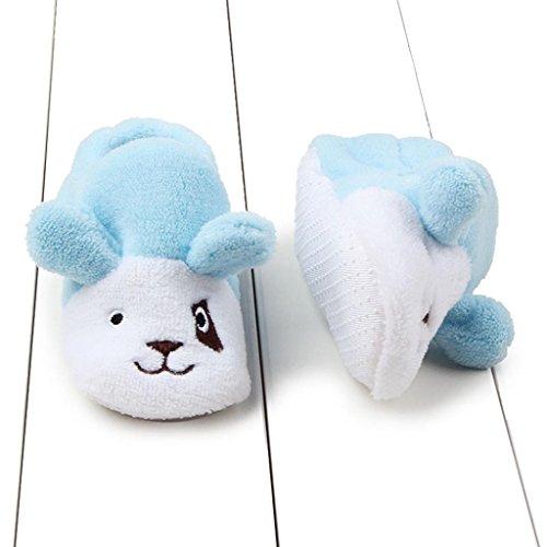 FEITONG Babyschuhe Sneaker Mode Prewalker Soft Sole Kleinkind Schuhe (0 ~ 8 Monat, Blau) Blau