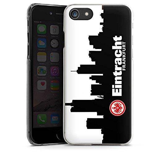 Apple iPhone 5s Hülle Case Handyhülle Eintracht Frankfurt Fanartikel SGE Fußball Hard Case transparent