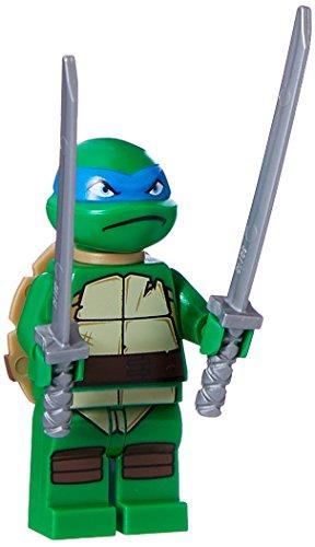 LEGO Teenage Mutant Ninja Turtles: Lego Teenage Mutant Ninja Turtle Leonardo Minifigur Minifigur