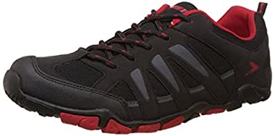 Power Men's Lionel Black Running Shoes - 6 UK/India (40 EU)(8396017)
