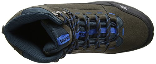 Trespass Oleg, Chaussures de Randonnée Hautes Homme Gris (Iron)