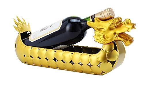 Mkuha Drachen weinflaschenhalter weinregal flaschenregal für 1 Flasche weinhalter weinständer...