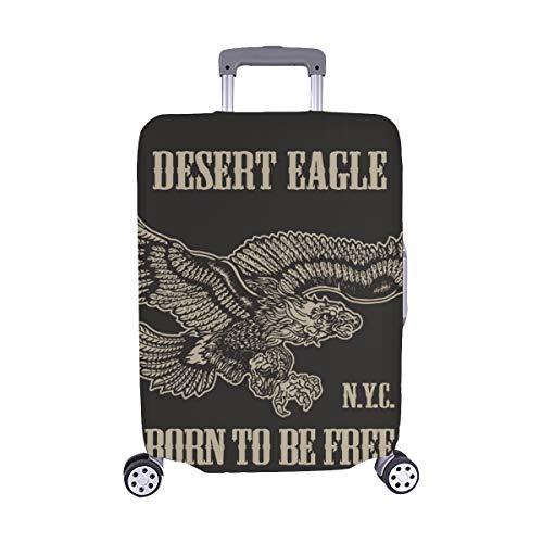 (Nur abdecken) Vintage American Eagle T-Shirt Graphic Spandex Staubschutz Trolley Protector case Reisegepäck Schutz Koffer Abdeckung 28,5 X 20,5 Zoll -
