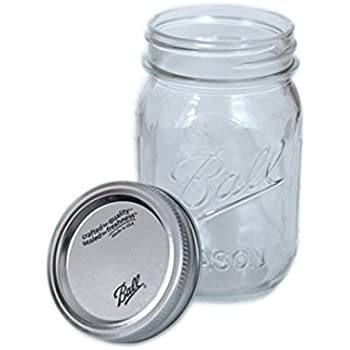4 x Original Ball Mason Jar - ca. 0,5 ml