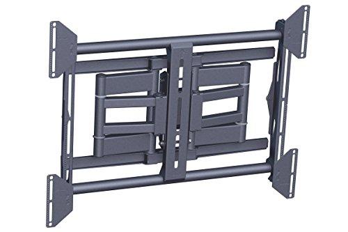Vogel's PFW 6851 TV-Wandhalterung für 107-190 cm (42-75 Zoll) Fernseher, drehbar und neigbar, max. 80 kg, Vesa max. 820 x 650, schwarz