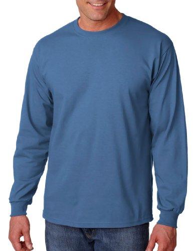 Gildan 6oz ultra Cottontm lunga da uomo 4Indigo Blue