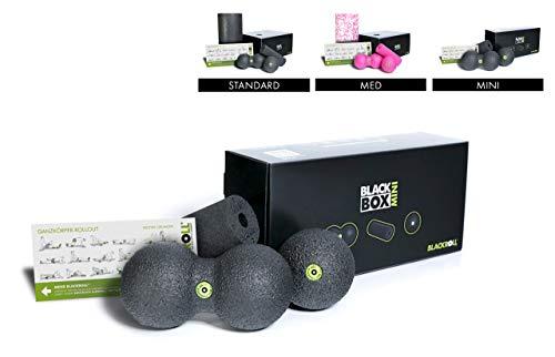 BLACKROLL® BLACKBOX - Faszientool-Sets in verschiedenen Variationen - das Original. Selbstmassage-Produkte für die Faszien + DVD & Übungskarte
