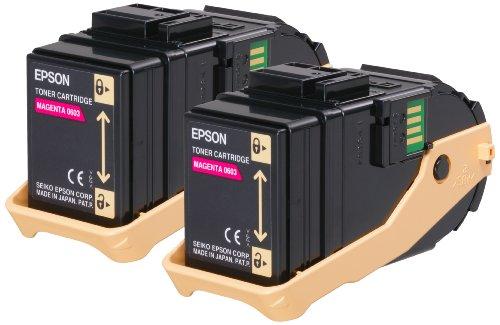 Epson – Doble cartucho de tóner para Epson AL-C9300N