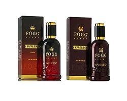 COMBO PACK OF FOGG XPRESSIO PERFUME 90 ML + FOGG BEAUTIFUL SECRET PERFUME FOR WOMEN 90 ML
