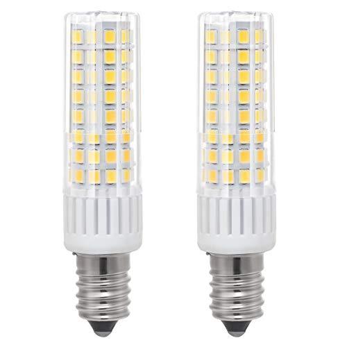 1819 Neueste E14 LED Birne Leuchtmittel Hohe Helligkeit 7.5W/8.5W Äquivalent zu 85W Watt Halogenlampe, 90V-265V Warm Weiß 3000K