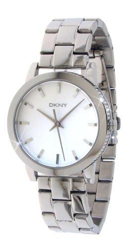 DKNY NY8317 39mm Silver Steel Bracelet & Case Mineral Women's Watch