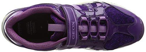 Geox Bernie D, Sneakers Basses Mixte Adulte Violet (Prune/lavender)
