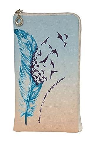 Zipper Reissverschluss Handytasche Soft Case geeignet für