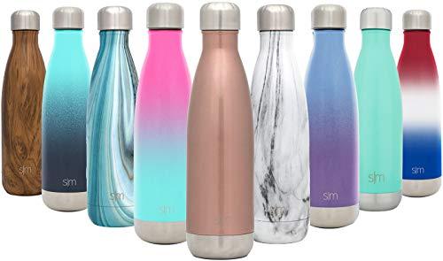 Simple Modern 250ml Wave Wasserflasche - Trinkflasche Vakuum Isolierte Doppelwandige 18/8 Edelstahl...