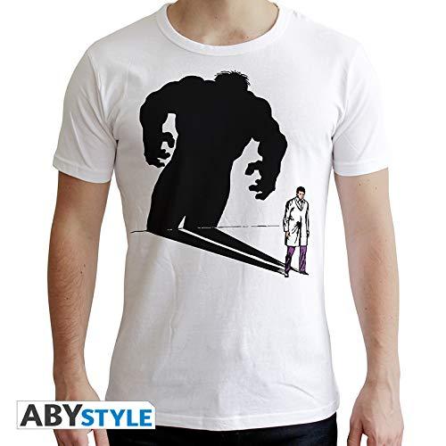 ABYstyle abystyleabytex403-xl Marvel Hulk Shadow a Maniche Corte da Uomo New Fit t-Shirt (X-Large)