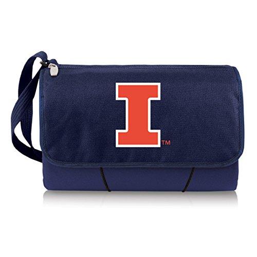 Decke Tote-Collegiate, Herren unisex damen, Illinois Fighting Illini Illinois Fleece Throw Blanket