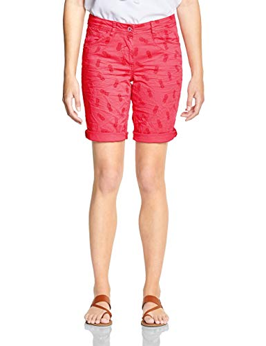 Die Capri Low-rise-shorts (neo coralline red)