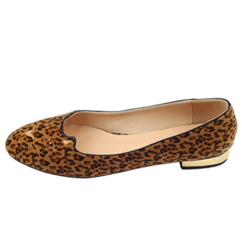 Jushee - Sandali  donna Leopardato