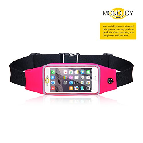 running-belt-waist-pack-iphone-6-6s-waterproof-case-monojoy-universal-touchscreen-compatible-soft-wa