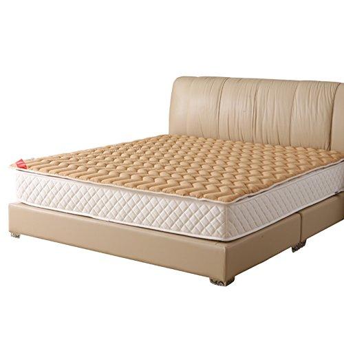 e dünn,Faltbare doppel einzelbett matratze Baumwolle Tatami Matte komfortabel atmungsaktiv,Schützen die wirbelsäule-Braun 90x200cm(35x79inch) ()