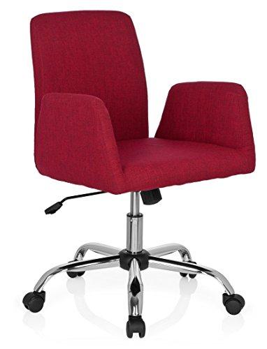 hjh OFFICE Bürostuhl Flow Living Stuhl (rot)