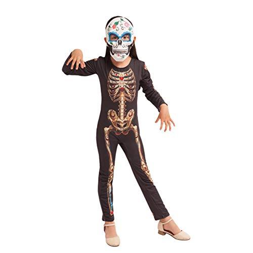 FIREWSJ Halloween Kostüm Dekoration Horror Monster Clown Halloween Kostüm Dress Up Kid Spider Skeleton Kostüm Kleid Purim - Horror Dress Up Kostüm